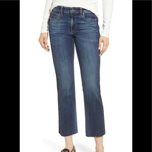 KuT from the Kloth Side Inset Cropped Jeans